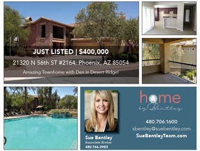 Amazing Townhome with Two Bedrooms and Den in Desert Ridge