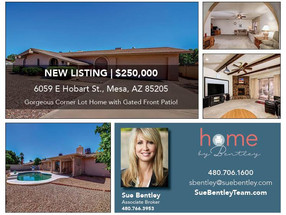 Gorgeous Corner Lot Home in Mesa's Golden West Community.