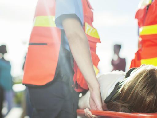 Dramatyczny wypadek niedaleko Mons - zginęły dwie młode osoby