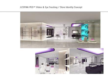 J.ESTINA PED Video & Eye Tracking / Store Identity Concept