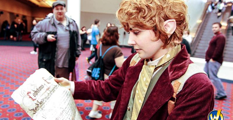 Tying Bilbo's Tie