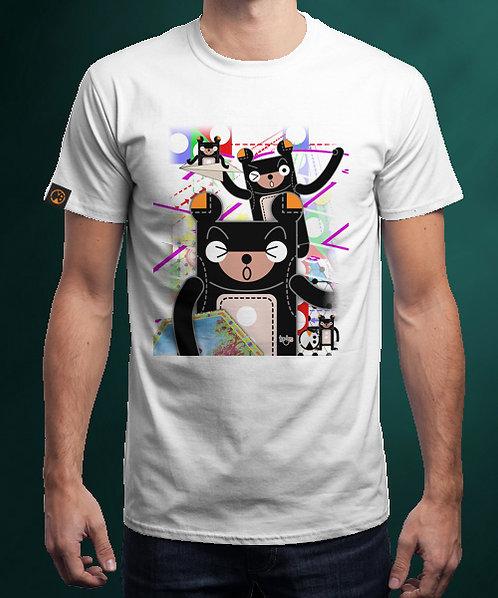 黑比波子棋 ~ T恤