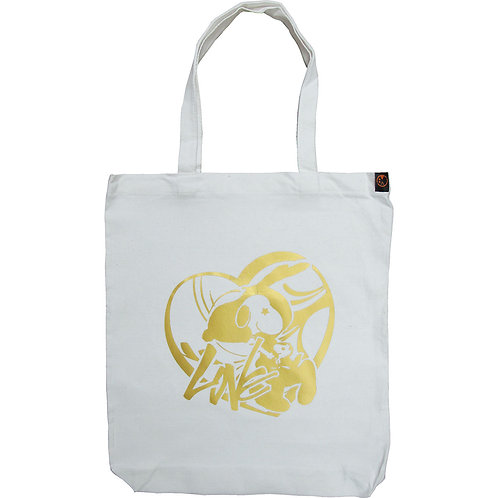 Sn★★★py Gold Foil ~ Canvas Tote