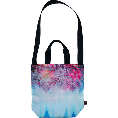 illusion Peony ~ M size Tote