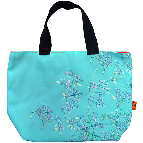 WALL florals ~ S size Tote