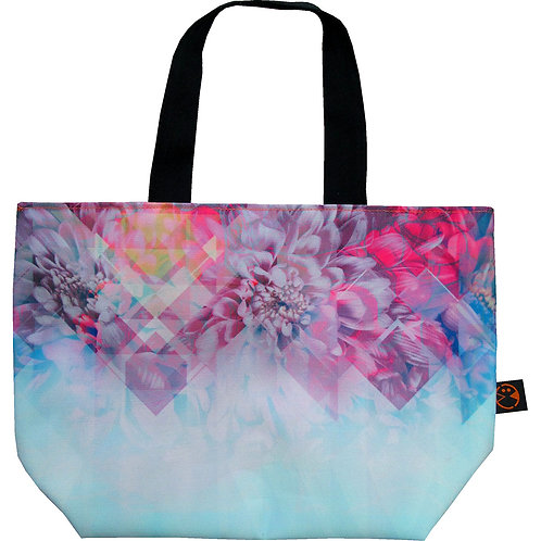 illusion Peony ~ S size Tote