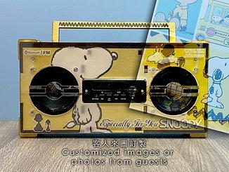 10:MUSIC Boombox Speakers (Custom made ver.)