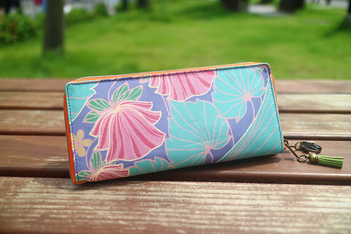 Blue Flamingo ~ Wallet-Tote