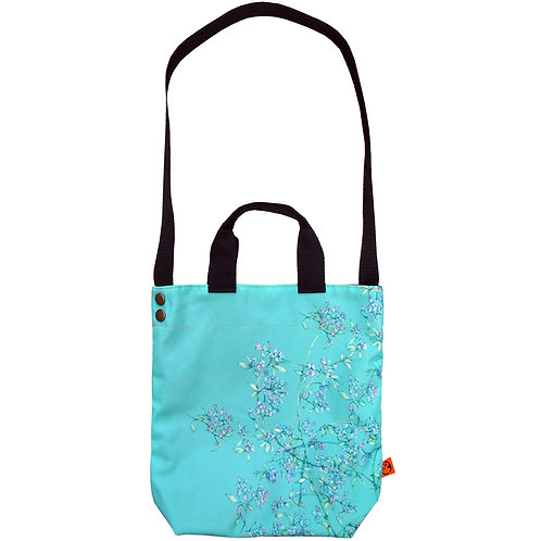 WALL florals ~ M size Tote