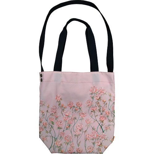 Rose Garden ~ L size Tote