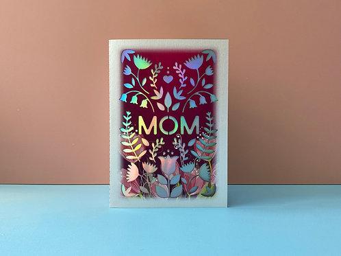 Mother's Day Card (Laser Garden) ~ C.M.ver.