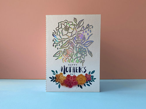 Mother's Day Card (Laser Blossom) ~ C.M.ver.