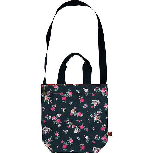 Denim Roses (DN-RS) ~ M size Tote