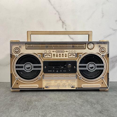 10:MUSIC Boombox Speakers