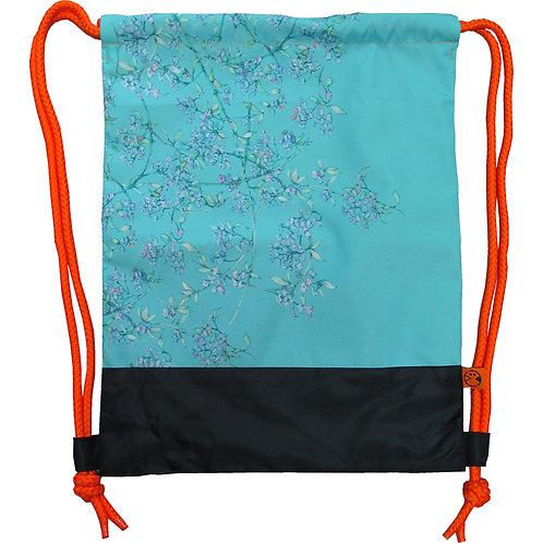 WALL florals ~ Drawstring Bag