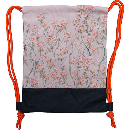 Rose Garden ~ Drawstring Bag