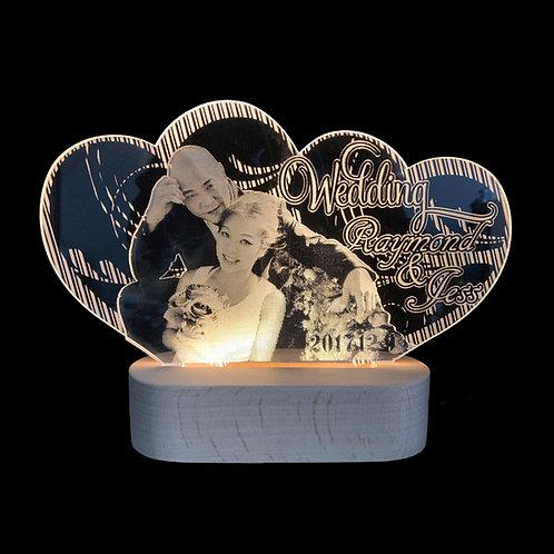 Custom Made Photo LED Night Lamp