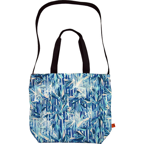 icy crystal ~ XL1.0 Tote