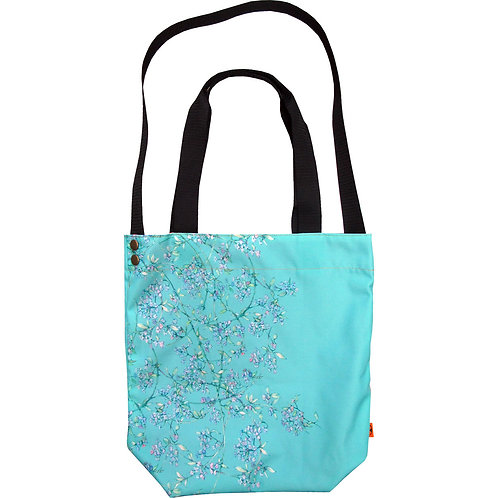 WALL florals ~ L size Tote