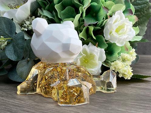 Resin & Aroma Stone - Geometric Bear B