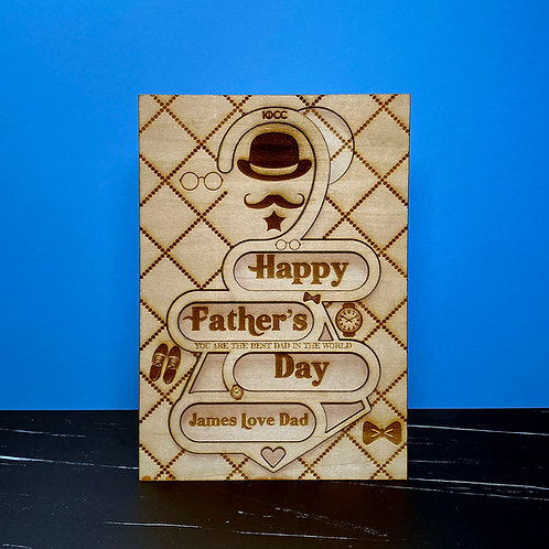 Father's Day Card (Super Daddy)