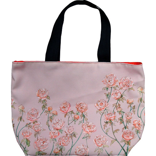 Rose Garden ~ S size Tote