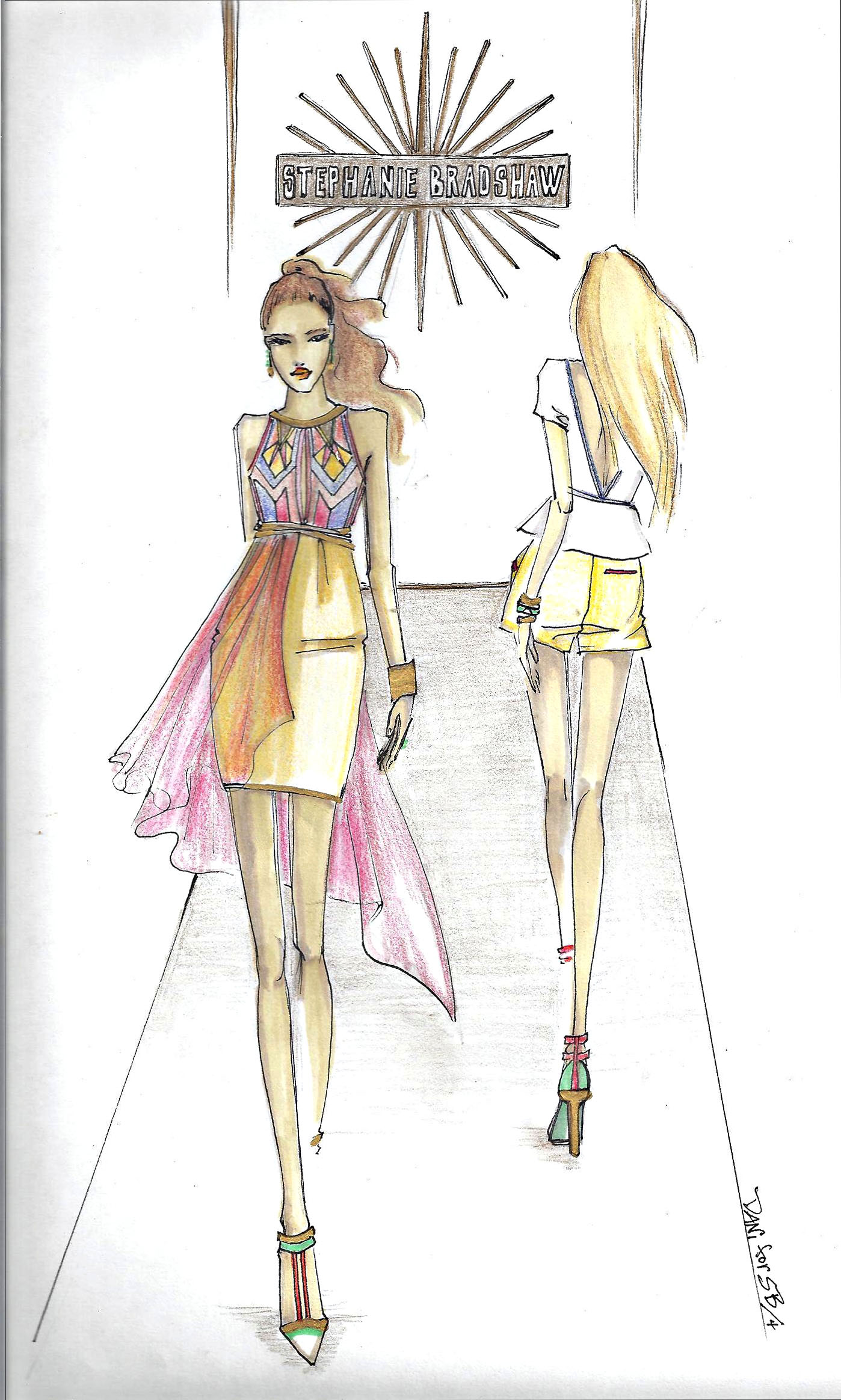 Fashion Show Rendering