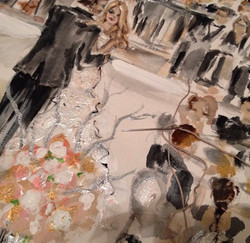 Live Wedding Painting || Mix Media