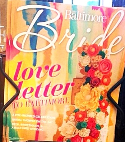 Baltimore Bride Magazine Cover
