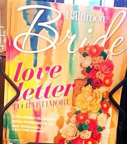 Baltimore Bride Magazine Cover