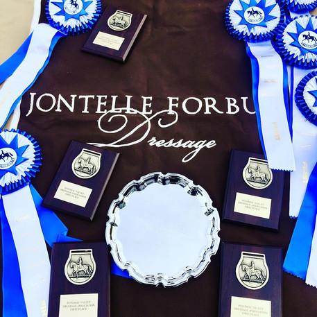 Jontelle Forbus Dressage Ribbons.jpg