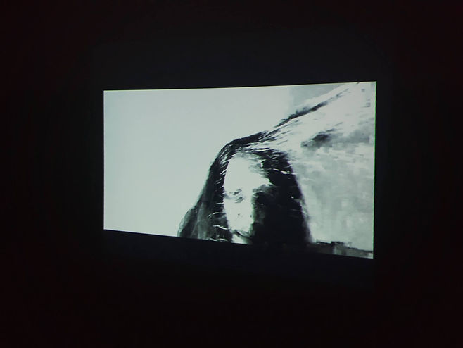 photo of projection at jorge jurado gale