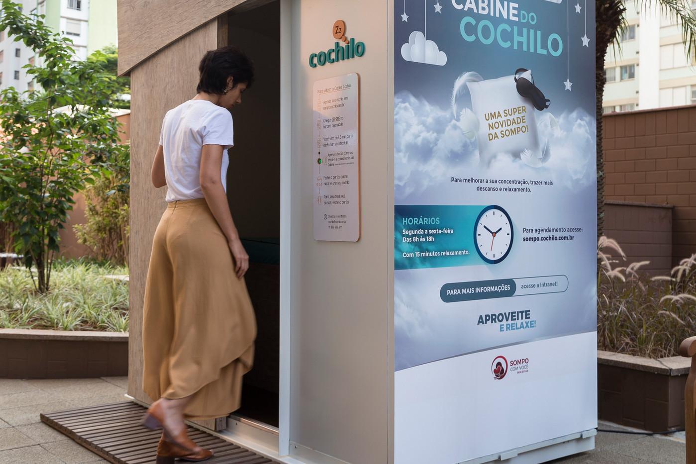Cabine Cochilo - Sompo