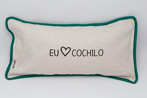 Almofada Eu amo Cochilo (Verde)