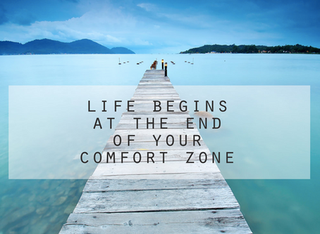 Go Out of Your Comfort Zone!