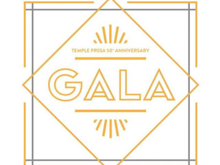 A Play-By-Play Recap of Temple PRSSA's 50th Anniversary Gala