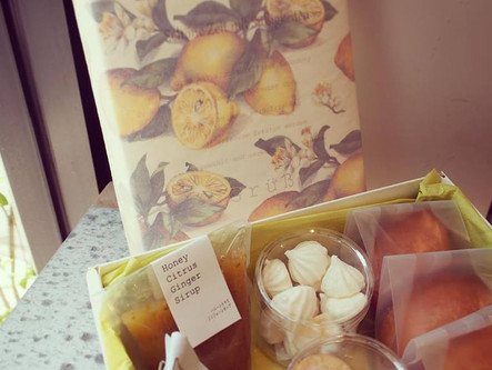 夏限定、柑橘類を使用したシトラスセット販売しています