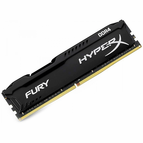 Memória DDR4 Kingston HyperX Fury, 8GB 2666MHz, Black