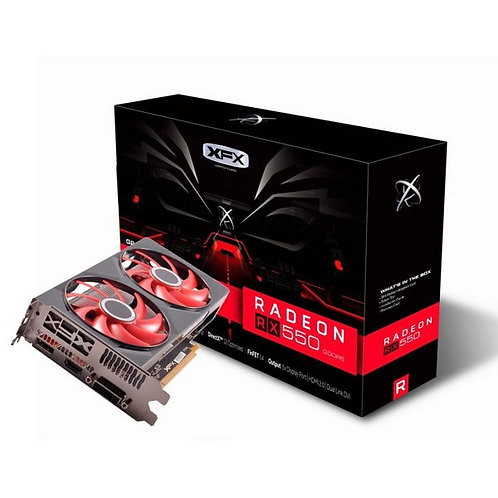 RX 550 4GB XFX DUAL COOLER