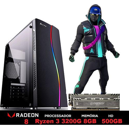 PC GAMER AMD RYZEN 3 3200G 4.0GHZ