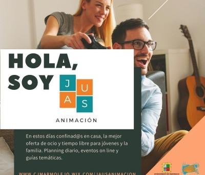 El Ayuntamiento de Marmolejo crea JAUS Animación para jóvenes y familias