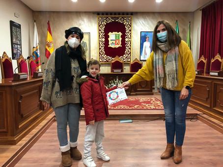 Entrega de premios de los concursos infantiles navideños
