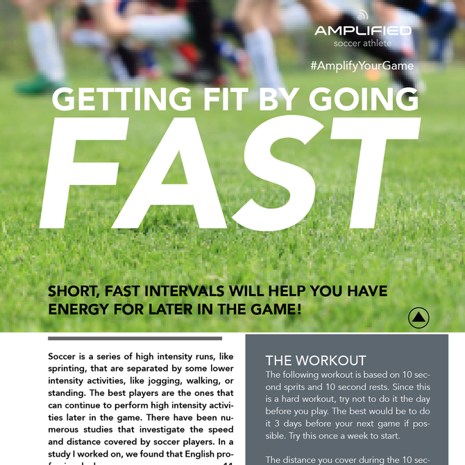 Get Fit By Going Fast