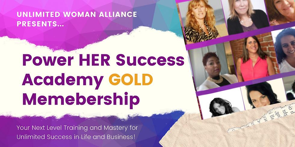 Power HER Success Academy GOLD Membership