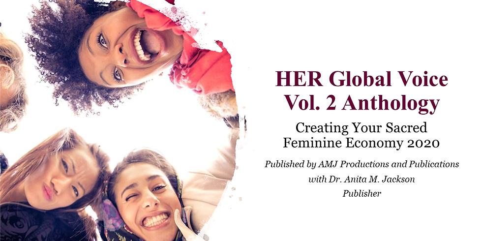 HER Global Voice Vol. 2 Anthology - Creating Your Sacred Feminine Economy