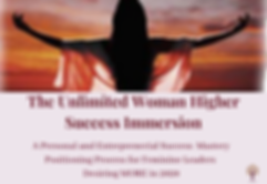 Unlimited Woman Overflow Program Banner