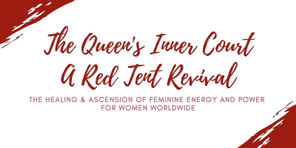 Queen's Inner Circle Red Tent Speakers