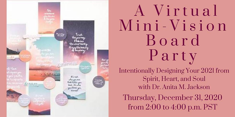 A Mini-Vision Board Party
