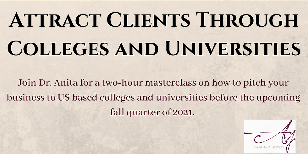 Attract Clients Through Colleges and Universities