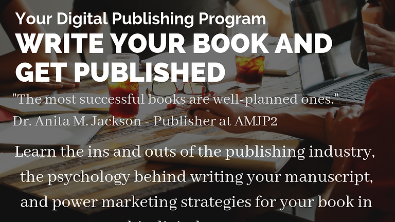 Write Your Book and Get Published - Digital Program